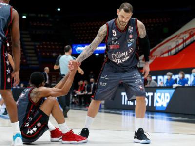 Olimpia Milano-Dinamo Sassari oggi: orario, tv, programma, streaming Serie A basket