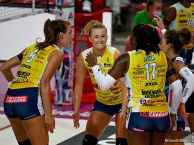LIVE Conegliano-Nantes 3-0, Champions League volley in DIRETTA: le venete dominano il match. Egonu spaziale