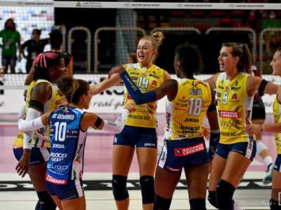 Volley femminile, Champions League 2020-2021: esordio vincente di Conegliano, strapazzato il Calcit Kamnik