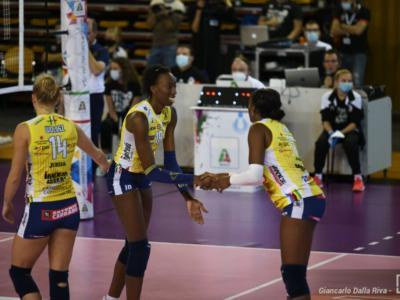 Volley femminile, Serie A1: Conegliano attende il fanalino di coda Brescia, Novara sfida Firenze