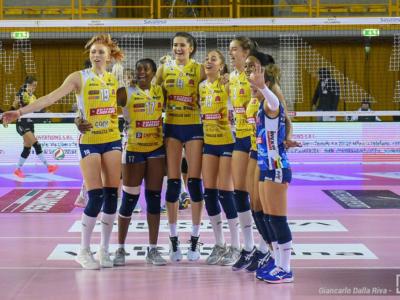 Volley femminile, Serie A1: Conegliano inarrestabile, 13ma vittoria. Successi di Cuneo e Trento, Nicoletti da 40 punti