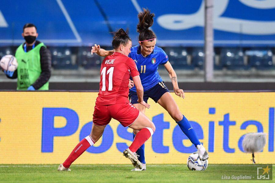 Danimarca Italia oggi, calcio femminile: orario, tv, formazioni, programma in chiaro