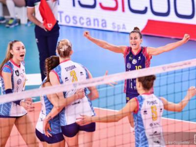 Volley femminile, Scandicci firma il tris in Champions League: steso il Resovia, primo posto nel girone