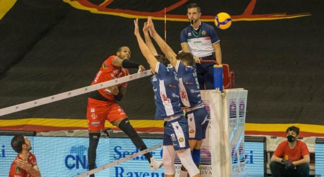 Volley, SuperLega: Ravenna batte Padova nel recupero e torna alla vittoria