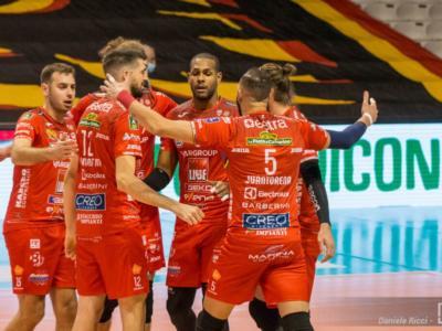 Volley, SuperLega 2021: Civitanova supera in tre set Padova. La Lube consolida il 2° posto in classifica