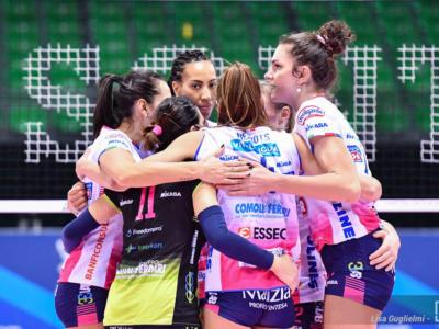 Volley femminile, Serie A1: Conegliano e Novara, botta e risposta. Sconfitte Brescia e Firenze