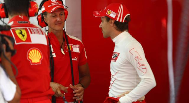 """Come sta Michael Schumacher? Luca Badoer: """"Solo io e pochi intimi andiamo a trovarlo. E' un combattente"""""""