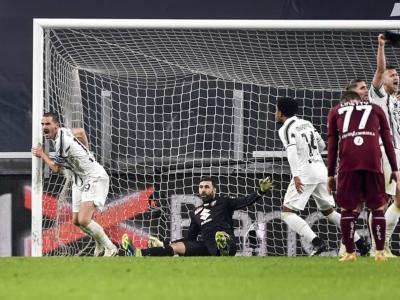 Calcio, Serie A 2020-2021: la Juventus beffa il Torino nel derby, la Lazio si impone contro lo Spezia