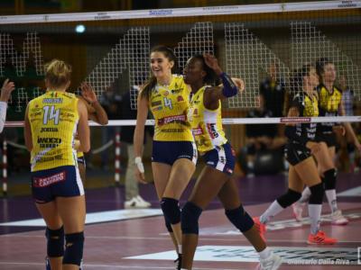 LIVE Conegliano-Calcit Kamnik 3-0, Champions League volley in DIRETTA. Tutto facile per le venete al debutto!