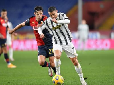 VIDEO Genoa-Juventus 1-3, Highlights, gol e sintesi: Cristiano Ronaldo e Dybala affossano il Grifone