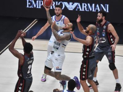 Basket, Serie A 2020-2021: Brindisi batte Milano ed è in vetta alla classifica! Ok Sassari e Virtus Bologna