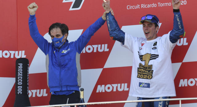 """MotoGP, Davide Brivio: """"Si chiude un 2020 splendido per Suzuki, ho iniziato a credere al titolo dopo Aragon 1"""""""