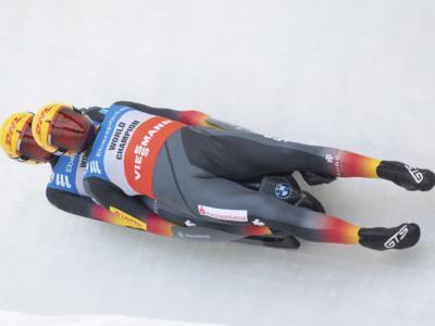 Slittino doppio, la gara sprint va ai soliti Eggert/Benecken, tre coppie italiane nei primi nove