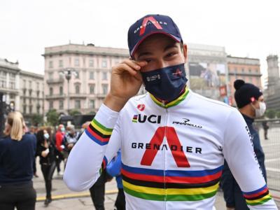 """Ciclismo, Filippo Ganna: """"Indimenticabile la vittoria a Camigliatello Silano, non vedo l'ora che arrivino le Olimpiadi di Tokyo"""""""