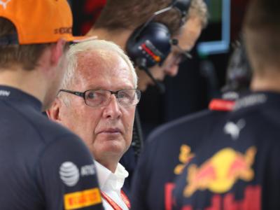 """F1, Helmut Marko mette pressione a Sergio Perez: """"Dovrà essere al massimo a 2 decimi da Verstappen"""""""