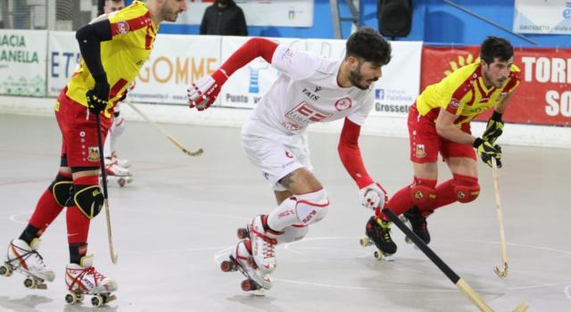 Hockey pista, Serie A1 2021: Correggio supera 5-3 Grosseto nel posticipo