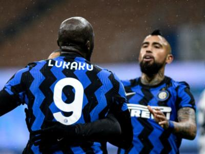 Calcio, Inter-Bologna 3-1: Lukaku e la doppietta di Hakimi stendono i rossoblù