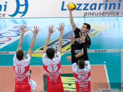 Volley, Superlega 15. giornata. Trento-Piacenza con vista sul terzo posto, Perugia con Verona per alimentare la fuga