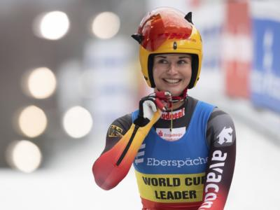 Slittino donne, Andrea Voetter sogna il podio ma è quinta, a Winterberg doppietta tedesca Taubitz-Geisenberger