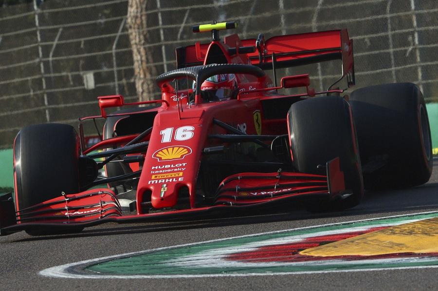 """F1, Charles Leclerc: """"Bello tornare in pista con la Ferrari, subito a mio agio"""""""