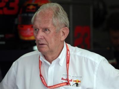 """F1, Helmut Marko: """"Un weekend da favola fino a questo momento, possiamo vincere!"""""""