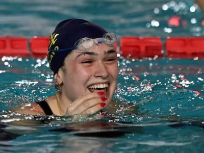 """VIDEO Benedetta Pilato, nuoto: """"Sono contenta, non mi aspettavo questo primato. Record del mondo vicino? Allora ci proviamo"""""""