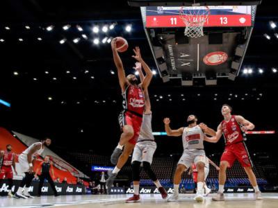 LIVE Olimpia Milano-Brindisi 82-88, Serie A basket in DIRETTA: i pugliesi espugnano il Forum e salgono in vetta