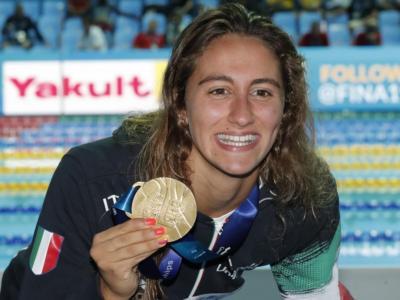 """Nuoto, Simona Quadarella: """"Ho recuperato la condizione, tutta la preparazione è finalizzata a Tokyo 2021"""""""