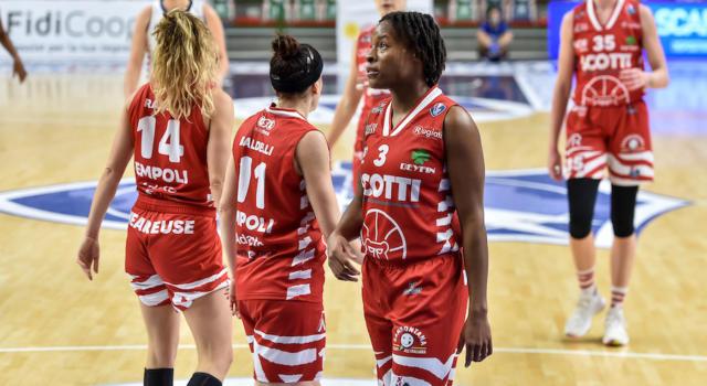 Basket, Serie A1 femminile: vittorie per Ragusa, Sesto San Giovanni ed Empoli
