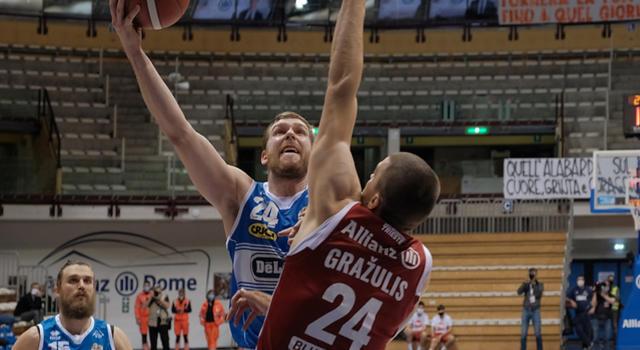 Basket, Serie A 2020-2021: Sassari sfida la Virtus Bologna nel big match della 25ma giornata, Treviso va a Pesaro per fare un ulteriore passo verso i playoff