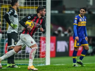VIDEO Milan-Parma 2-2, Highlights, gol e sintesi: Theo Hernandez salva il Diavolo a San Siro