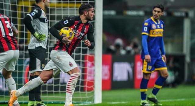 VIDEO Milan-Parma 2-2, Highlights, gol e sintesi: Theo Hernandez salva il Diavolo a San Siro