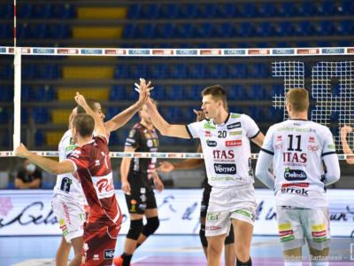 Volley, SuperLega: Trento si impone 3-1 sul parquet di Ravenna. Nimir Abdel Aziz trascinatore