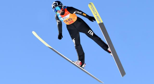 Combinata nordica femminile, Coppa del Mondo Ramsau: tre azzurre nella top-10 al termine della sessione di salto