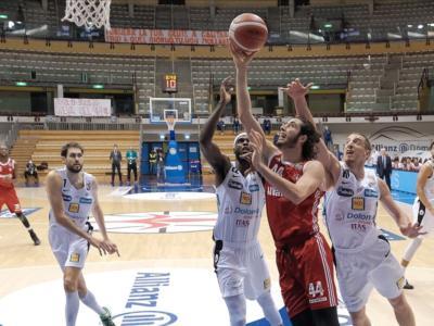 Basket, Serie A: Trieste vince il posticipo contro Trento