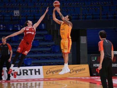 Basket, Serie A 2020-2021: vittorie per Pesaro, Treviso e Fortitudo Bologna nella 13ma giornata
