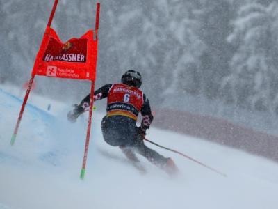 Sci alpino oggi, Gigante Santa Caterina: orari, tv, programma, pettorali di partenza
