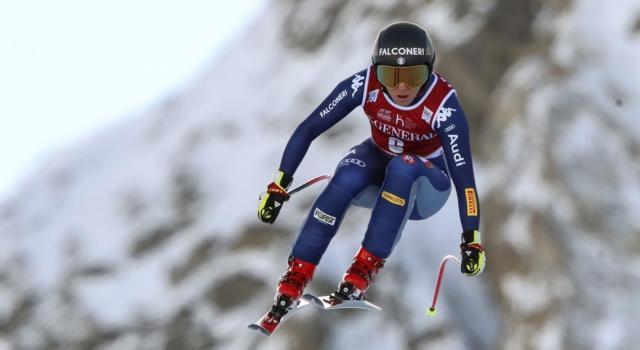 Sci alpino, Sofia Goggia arpiona la vittoria in Val d'Isere! Battute Suter e Johnson