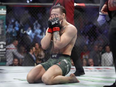 """Conor McGregor operato a tibia e perone: """"Stampelle per 6 settimane. Poirier festeggia, non hai fatto nulla"""""""