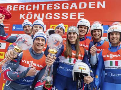 Slittino, Coppa del Mondo Sigulda 2021: la Russia si impone nel team relay, Italia quarta