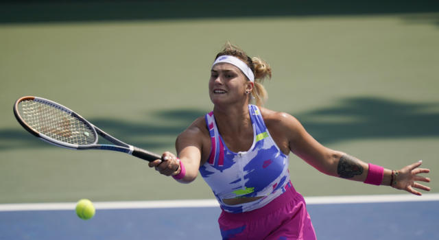 Tennis, WTA Abu Dhabi 2021: Aryna Sabalenka è un carro armato, annichilita la Kudermetova e terzo torneo consecutivo