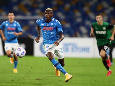Calcio: Victor Osimhen positivo al Covid-19. Il giocatore del Napoli è asintomatico