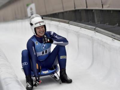 Slittino, Kevin Fischnaller è secondo nella sprint di Igls, successo a Pavlichenko