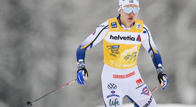 Sci di fondo: Linn Svahn positiva asintomatica al Covid-19, è costretta ad abbandonare il Tour de Ski