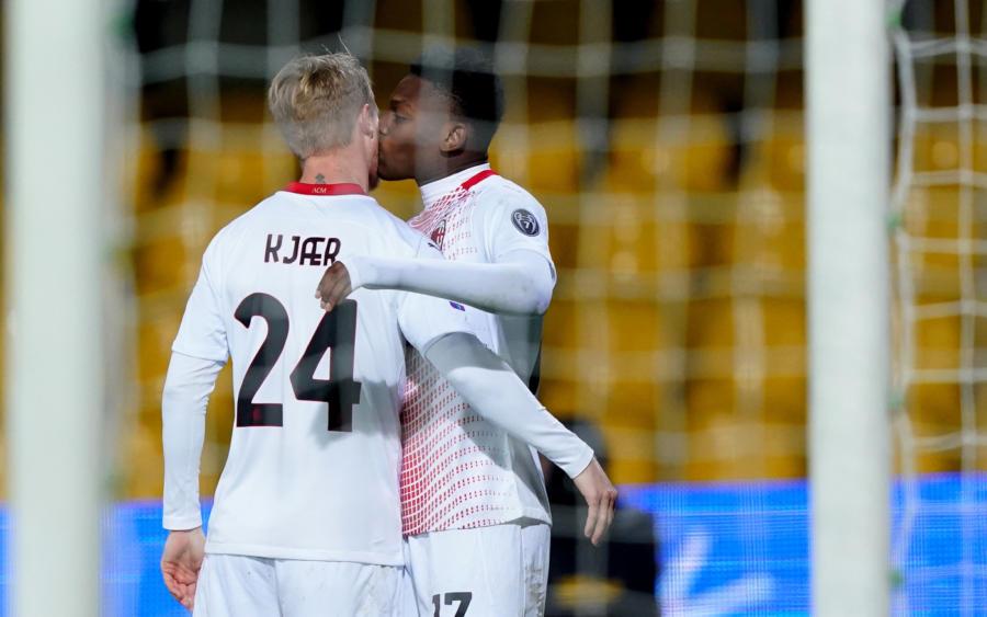 Il Milan espugna il Bentegodi: 0   2 firmato Krunic e Dalot