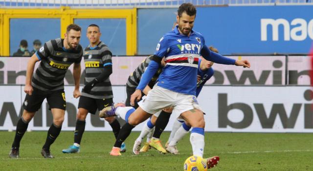 VIDEO Sampdoria-Inter 2-1, Highlights, gol e sintesi: Candreva e Keita stendono i nerazzurri!