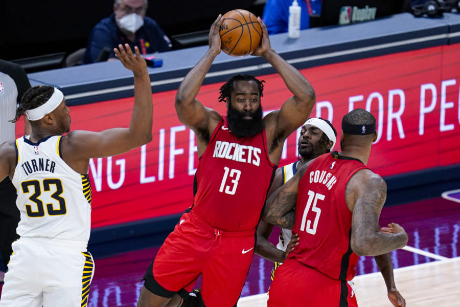 James Harden lascia Houston e passa a Brooklyn