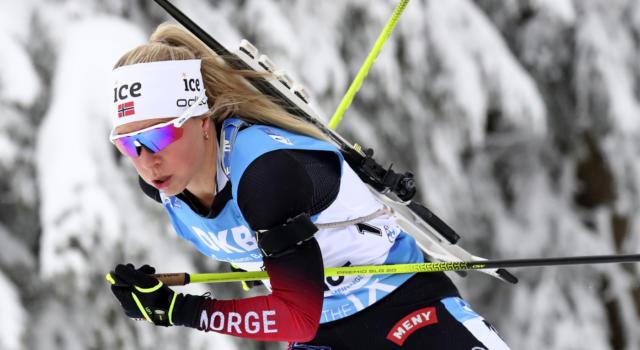 Biathlon, Dorothea Wierer è magica e si arrende alla sola Eckhoff nella sprint di Oberhof. Hauser ancora a podio