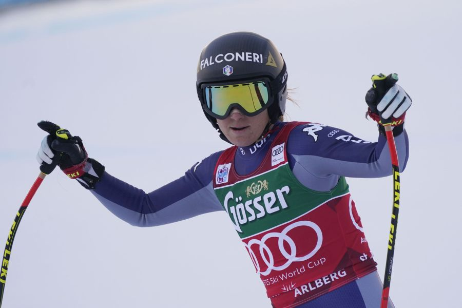 Sofia Goggia perfetta sulle nevi di Crans Montana: sua la discesa libera