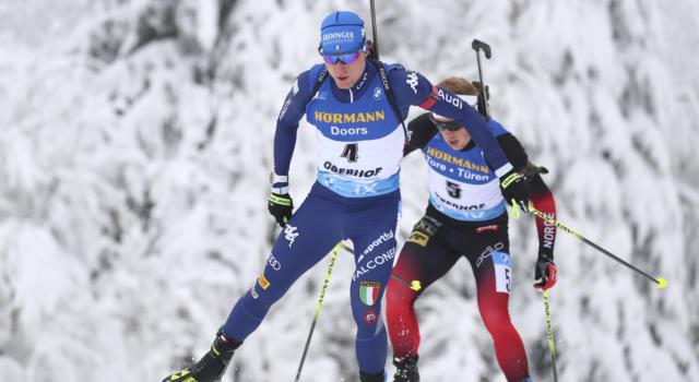 Biathlon, Italia strepitosa! Azzurri terzi in staffetta a Oberhof, successo alla Francia